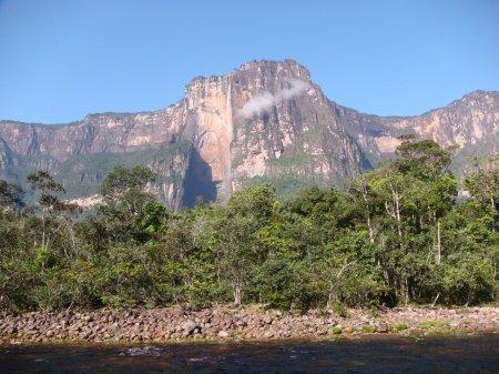 Величайшие водопады мира. Анхель.