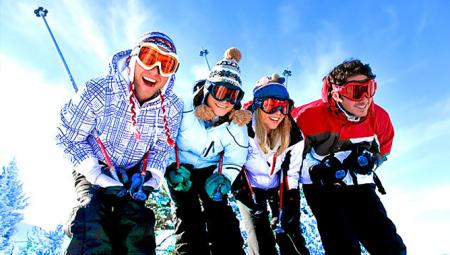 Отдых на горнолыжном курорте вместе с детьми