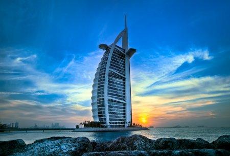 Самый высокий и дорогой отель мира - Бурдж Аль Араб