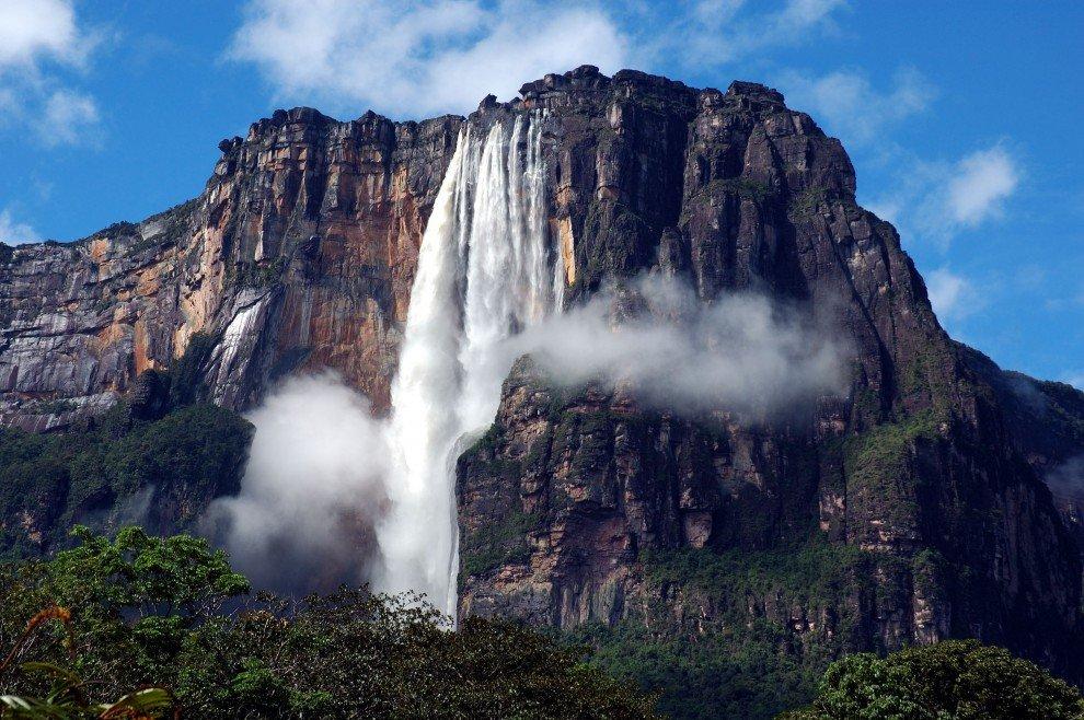 Анхель самый высокий водопад мира