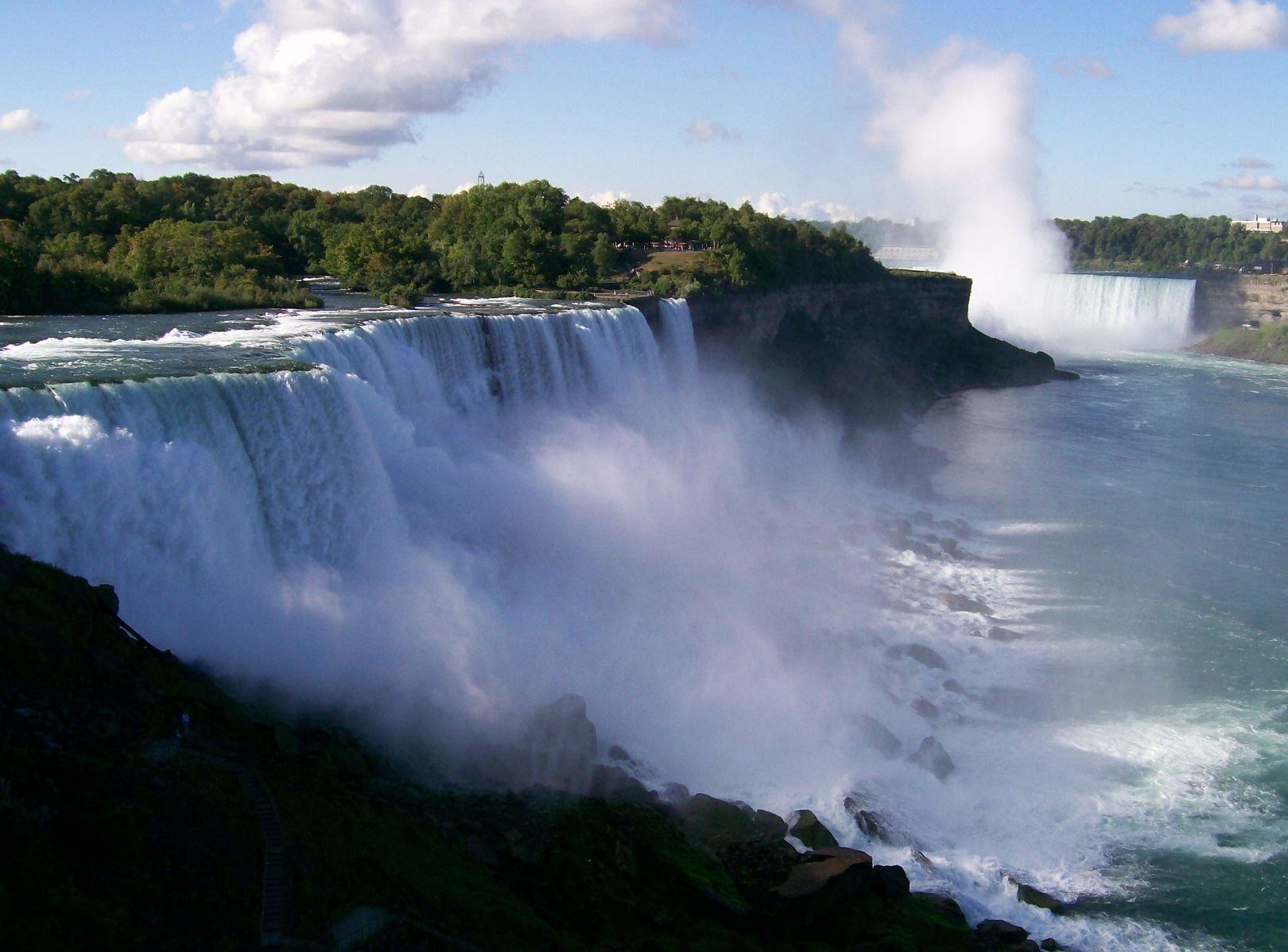 Ниагара – «гремящая вода»