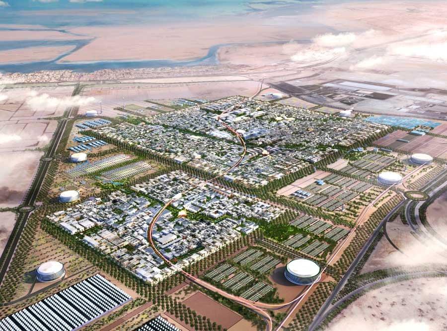 Первый экогород на планете строят в Объединенных Арабских Эмиратах