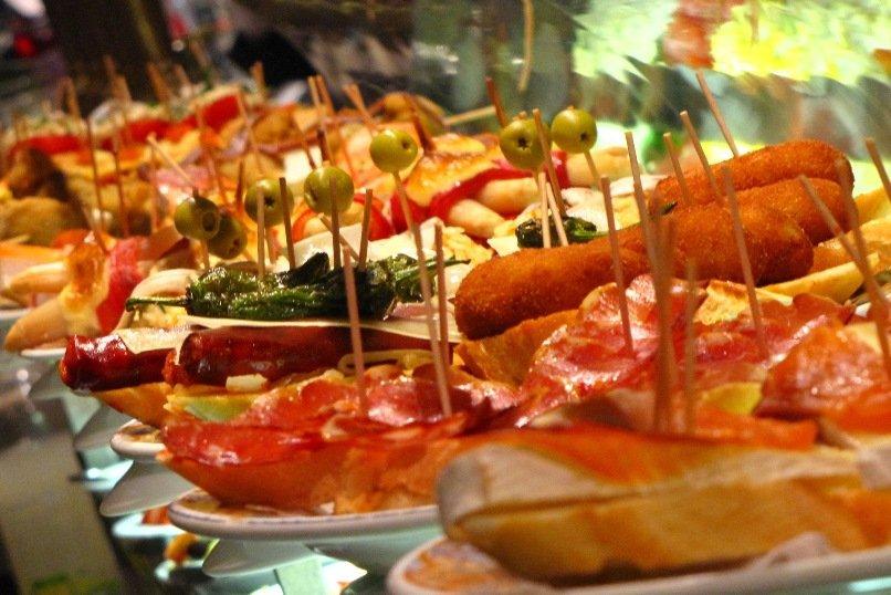 Тапас - традиционная испанская закуска