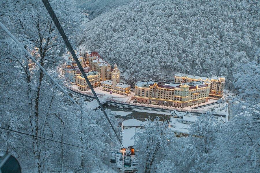 Сочинский комплекс «Роза Хутор» готовится открыть летний курортный сезон