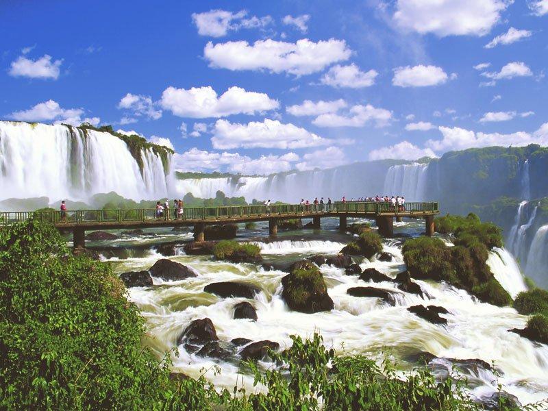 «Глотка Дьявола» — Водопад Игуасу
