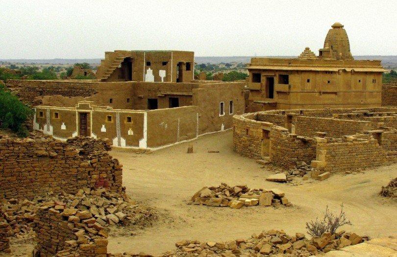 Колдхара — индийский город-призрак