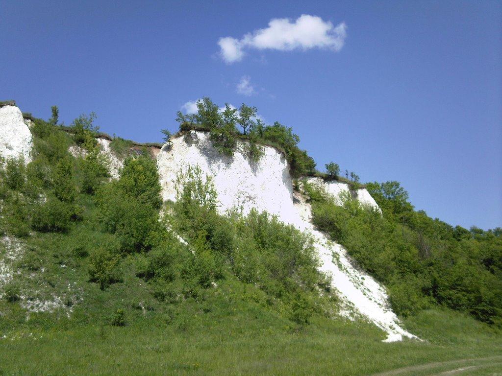 Меловые горы - удивительные природные памятники