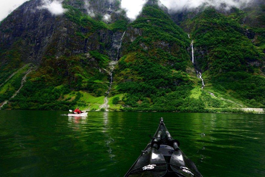 По Норвегии на байдарках