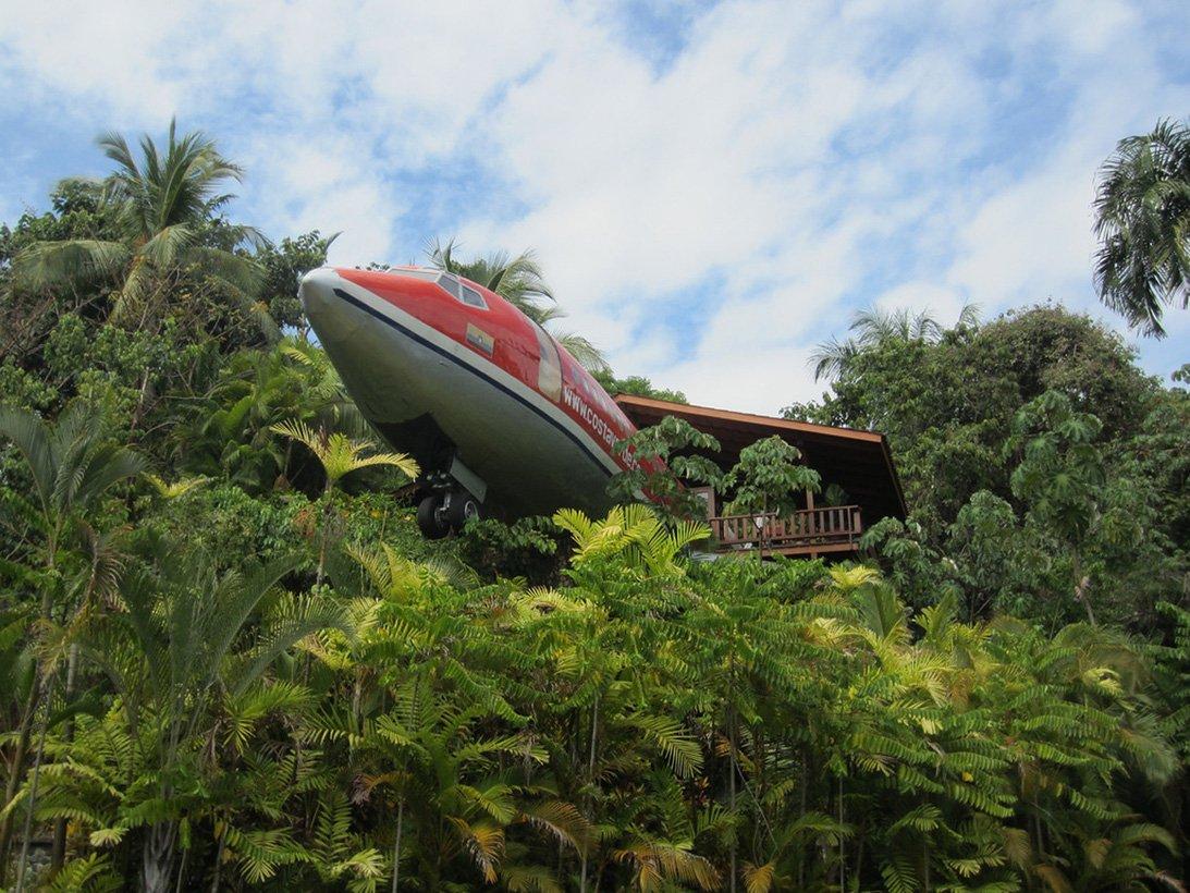 Отель-самолёт «Boeing 727»