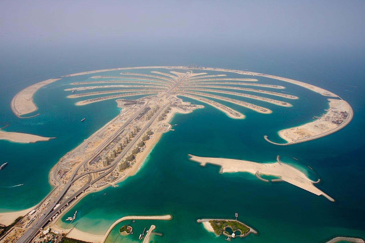 Пальмовые острова Дубая