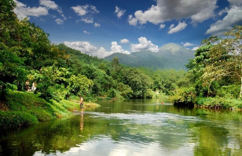 Национальный парк «Хортон Плейнс» в Шри-Ланки