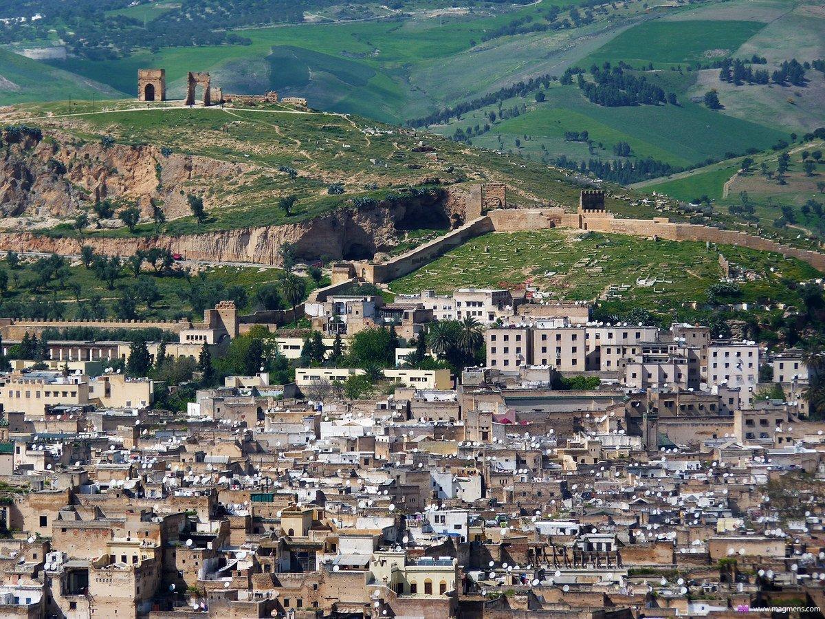 Древняя столица Марокко - город Фес