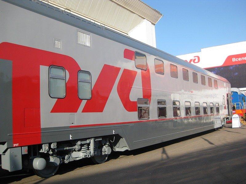 РЖД расширяет маршрутную сеть для двухэтажных поездов