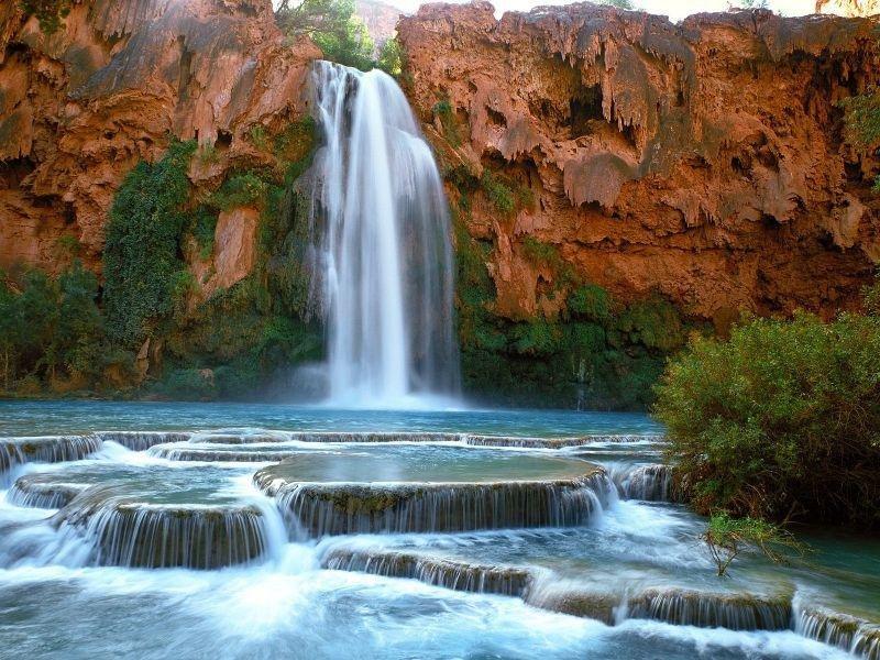 Лечебный водопад Хавасу