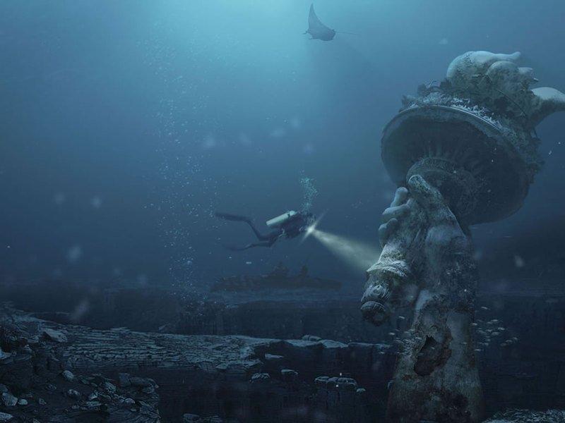 10 удивительных подводных достопримечательностей