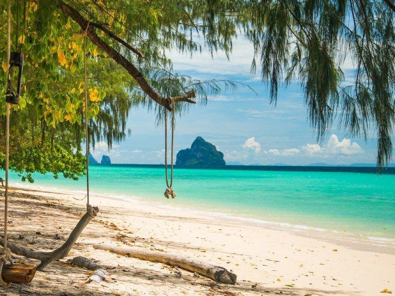 Остров Ко Крадан – безлюдный рай