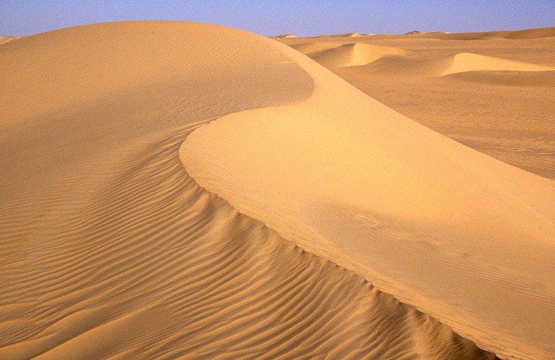 Пустыня Тенере и ее уникальные пески