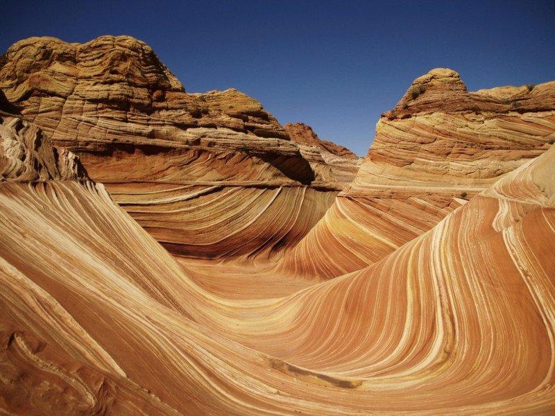 Песчаное чудо под названием «Аризонская волна»