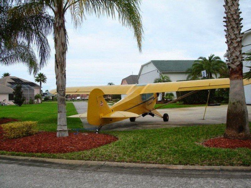 Спрус Крик - город частных самолетов