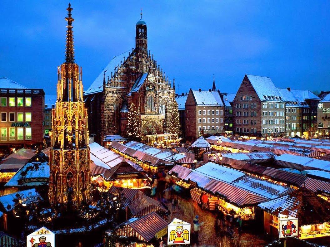 Рождественская Нюрнбергская ярмарка