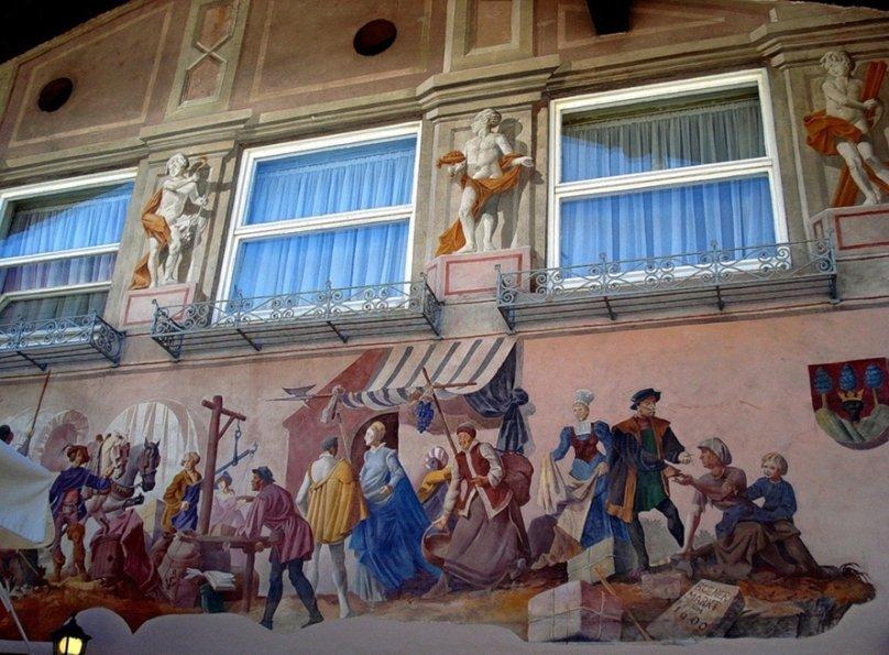 Миттенвальд - город мастеров скрипичных дел