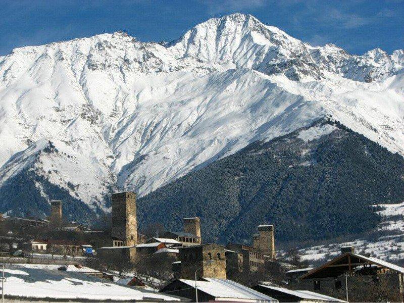 В Грузии появился новый горнолыжный курорт - Тетнулди