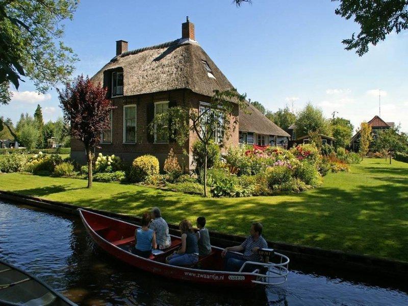 Гитхорн в Нидерландах – голландская сказочная Венеция