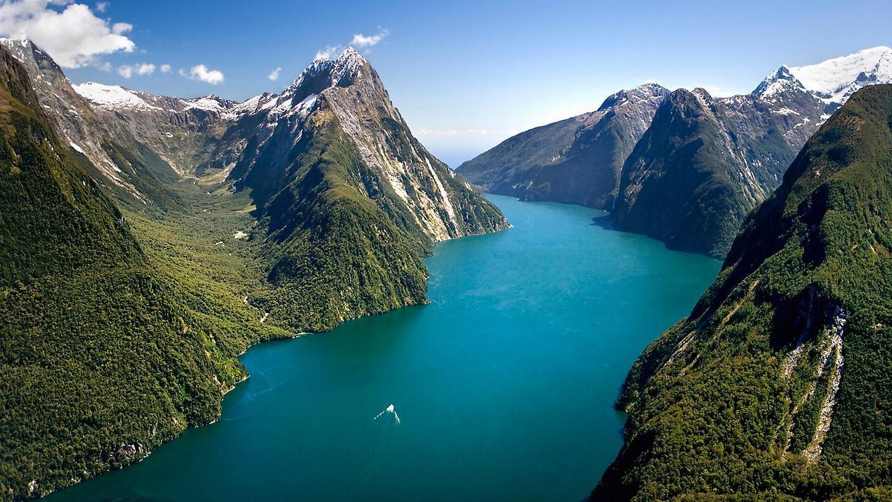 Национальный Парк Фьордленд в Новой Зеландии
