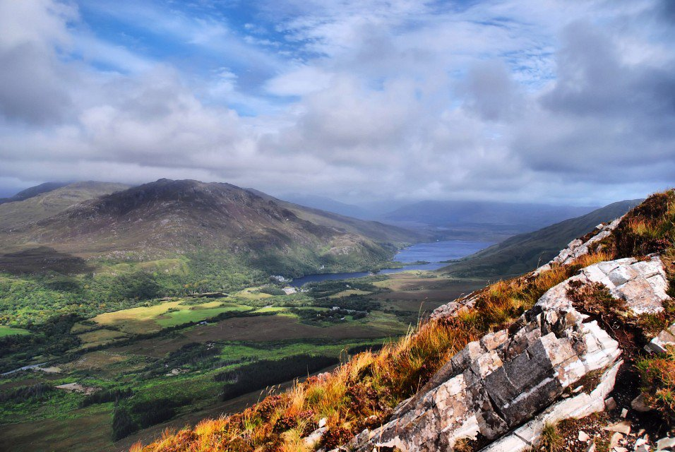 Национальный Парк Коннемара в Ирландии