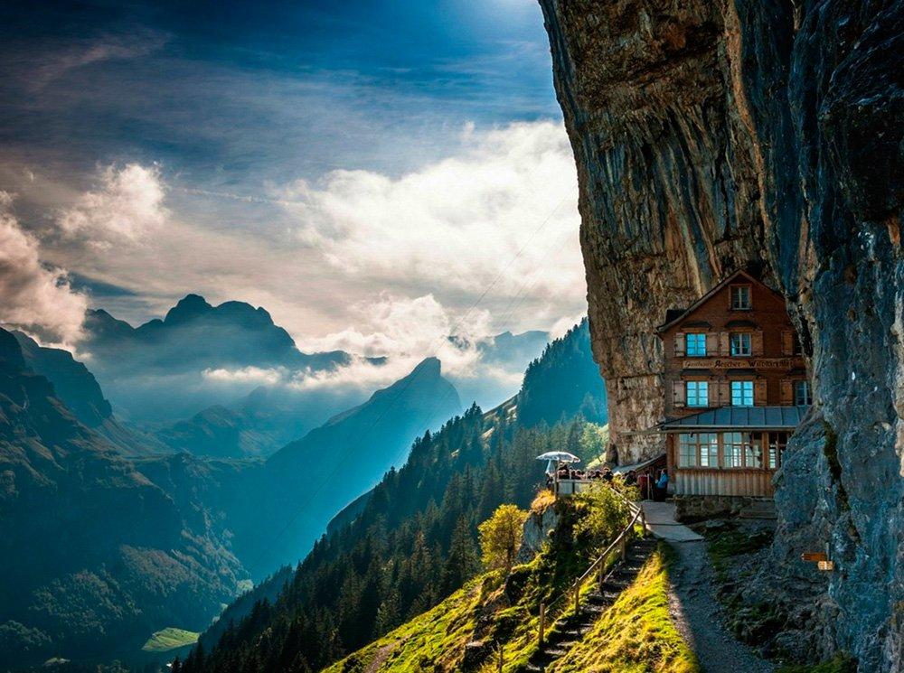 Отель Aescher в Швейцарии