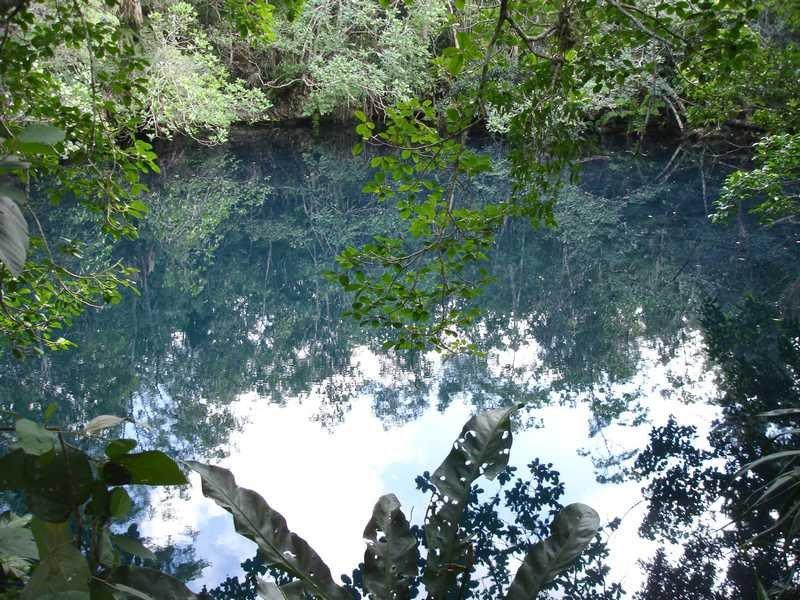 Сенот Анжелита. Мистическая подводная река в Мексике