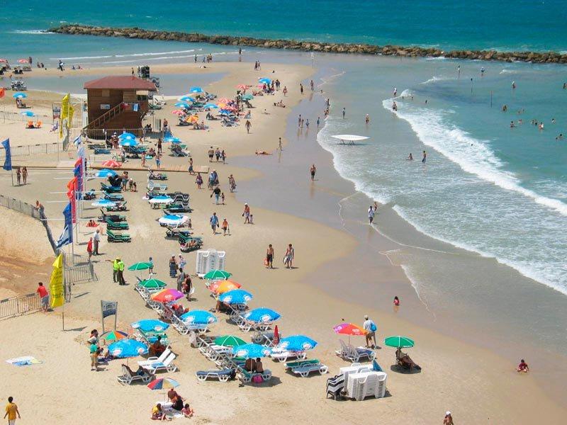 Израильские пляжи
