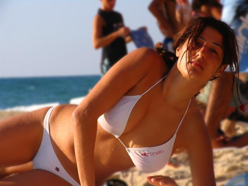 Публичный секс на пляже в тель авиве