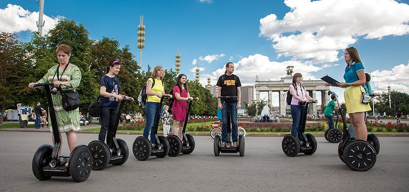 Москва приглашает путешественников в сигвей-туры