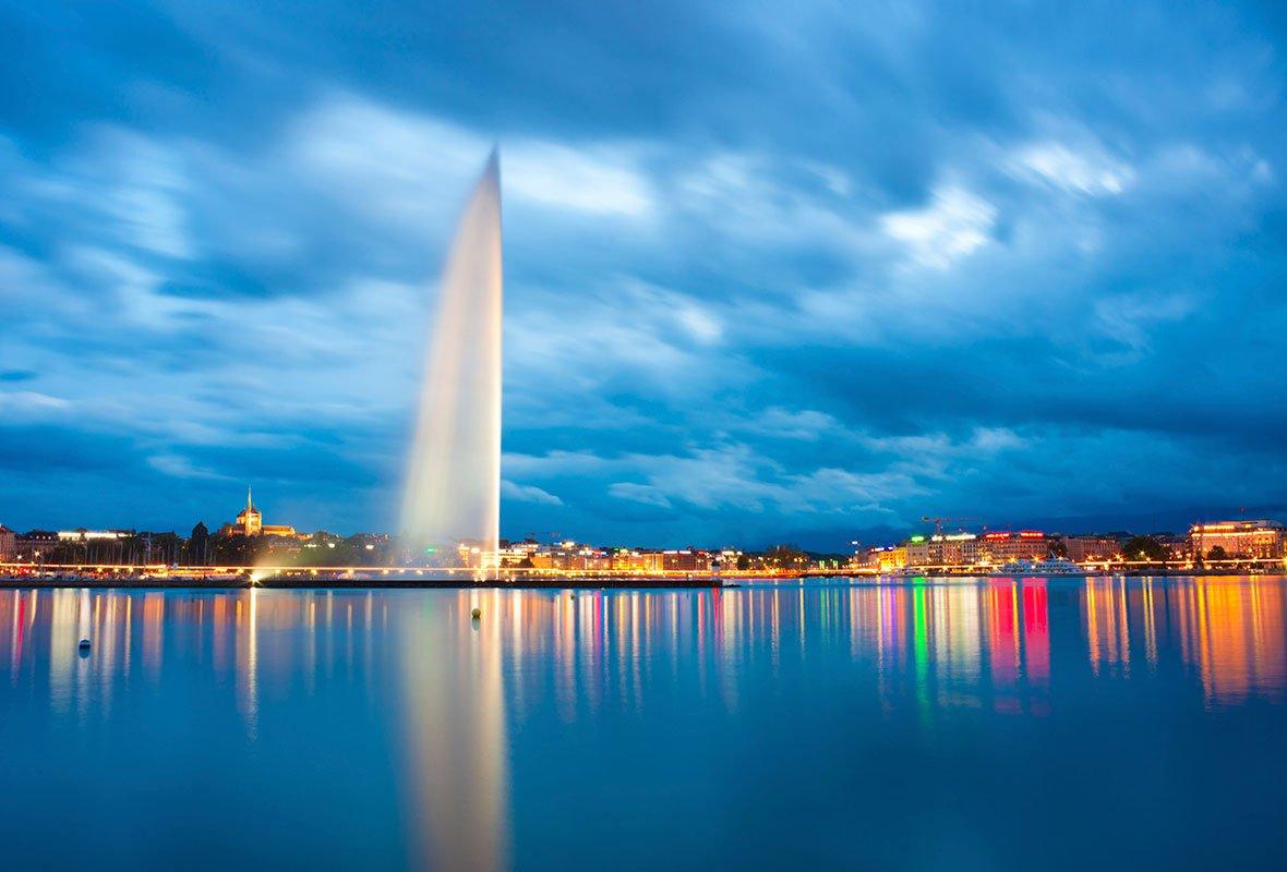 В Женеве разыгрывает тысячу бесплатных ночёвок в отелях