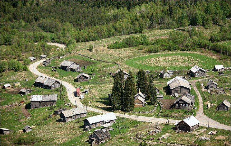В России выбрали самую красивую деревню - 2016
