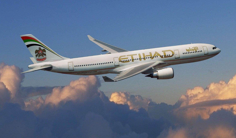 Авиафлагман ОАЭ «Etihad Airways» гарантирует бесплатный провоз детей