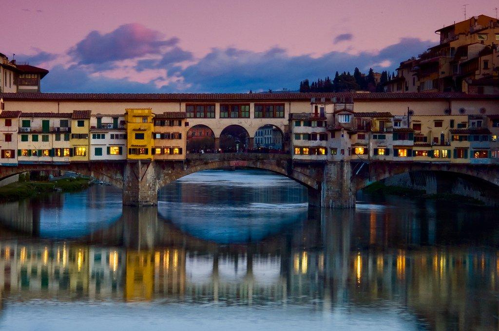 Понте-Веккьо — самый красивый мост Флоренции
