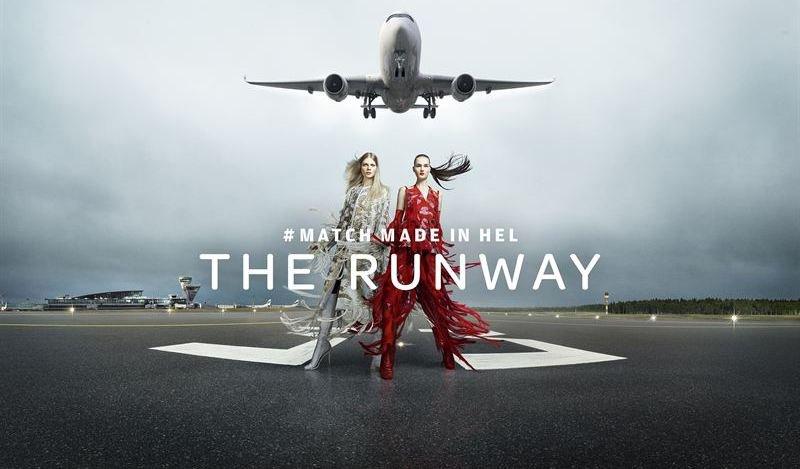 Уникальный модный показ состоялся на взлетно‑посадочной полосе в Хельсинки