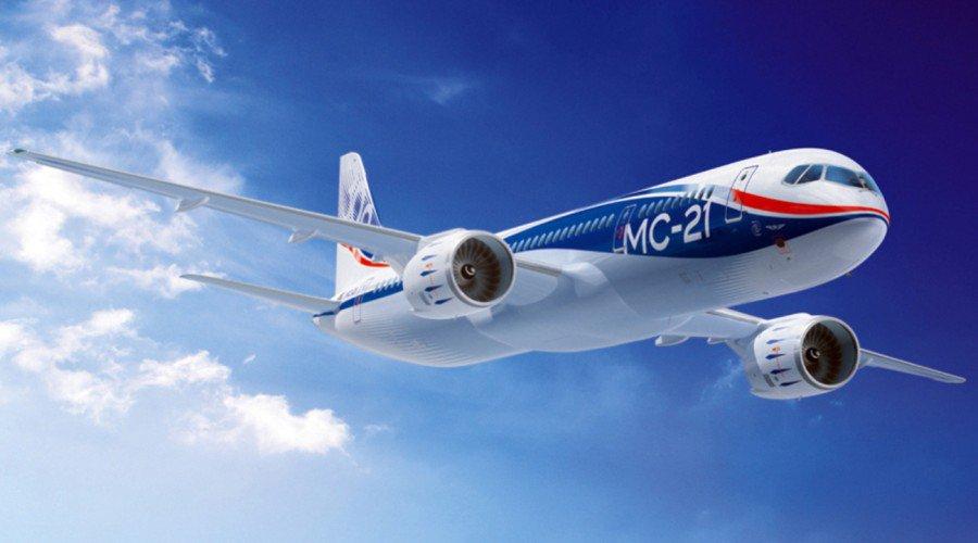 В России представлен новый пассажирский авиалайнер