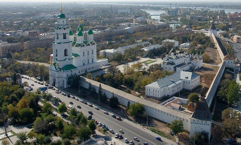 Астраханский кремль – памятник русской оборонительной архитектуры