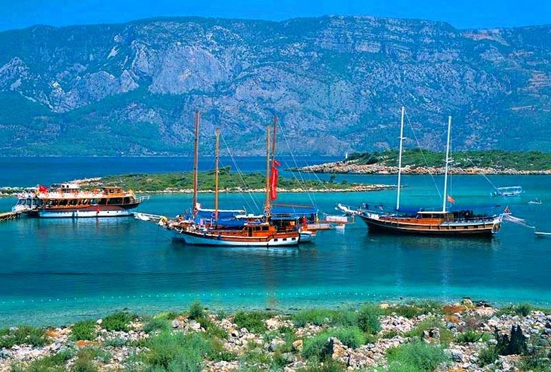Остров Клеопатры – жемчужина Эгейского моря