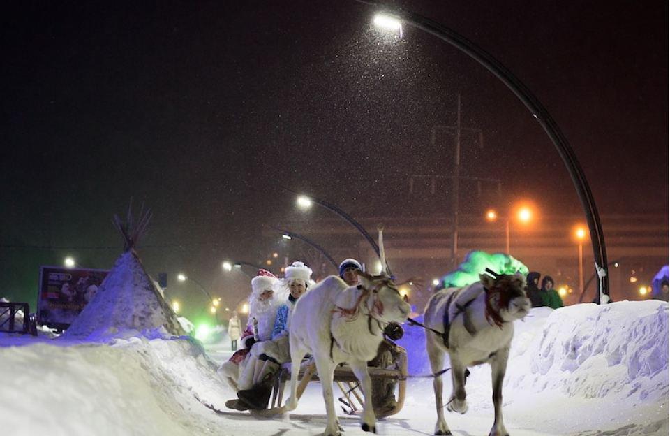 Ханты-Мансийск признан Новогодней столицей РФ