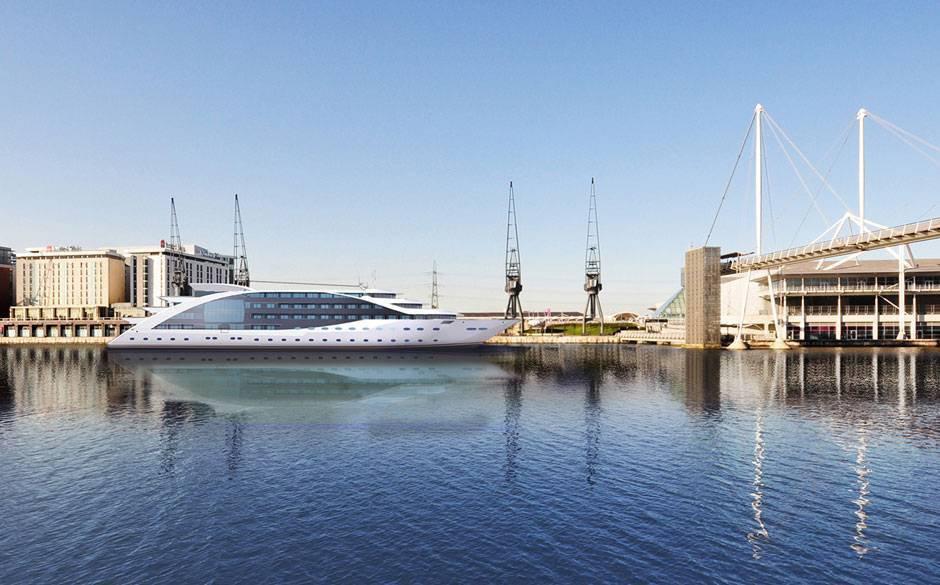 В сентябре 2016 года в Лондоне произойдет открытие The Good Hotel – плавающего отеля