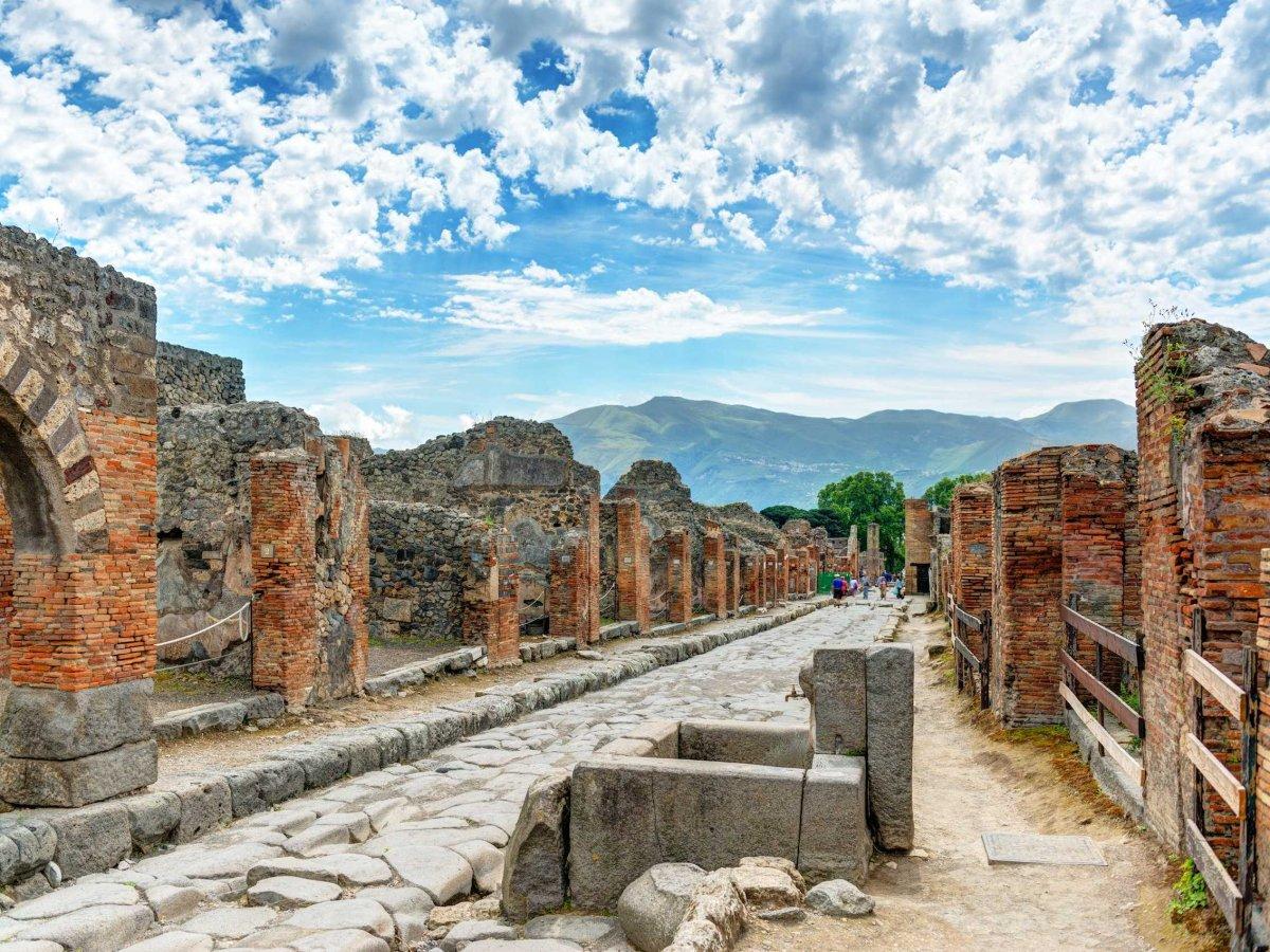 Помпеи: тайны погибшего города