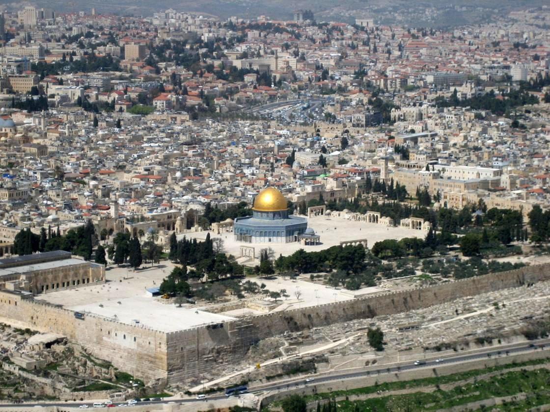 Храмовая гора в Старом городе Иерусалима