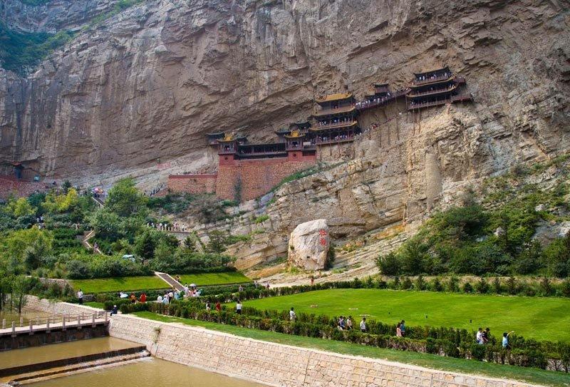 Святыня Сюанькун — единение трех религий и культур Китая