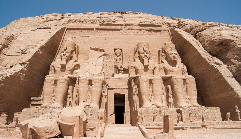 Великие храмы в Абу-Симбел