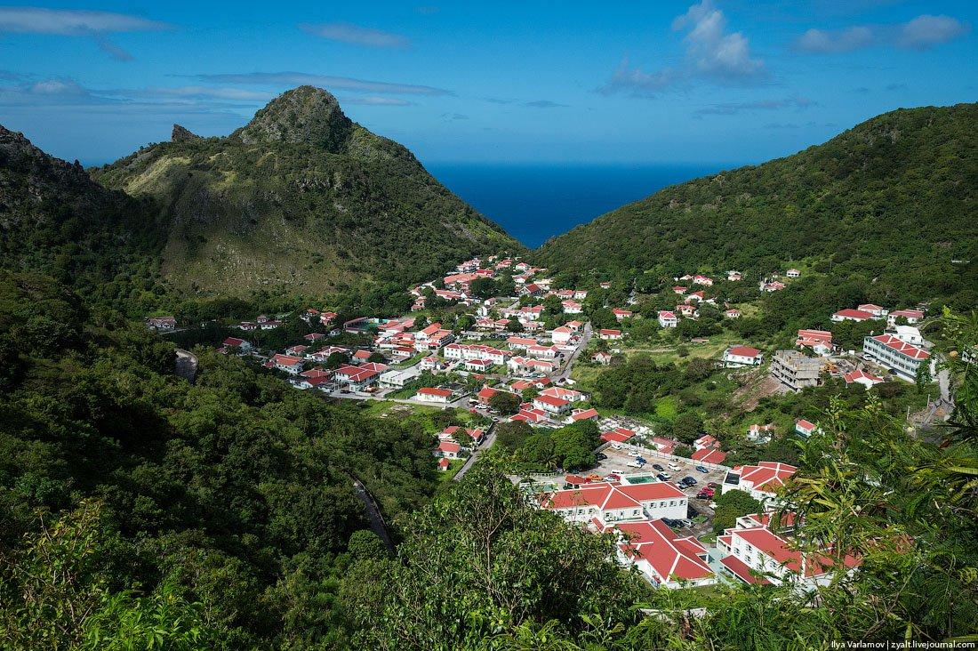 Жемчужина Карибов – остров Саба